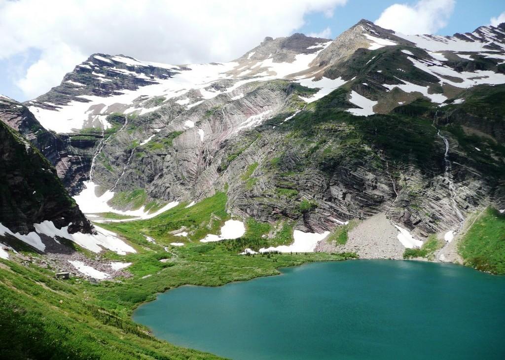 Gunsight Pass in Glacier National Park