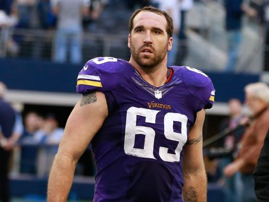 Jared Allen with the Vikings