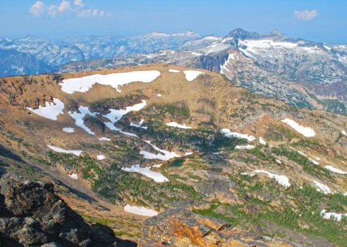 Saint Mary Peak is one of the most accessible 9,000+ ft peaks in the Bitterroot Mountains and offers spectacular views.