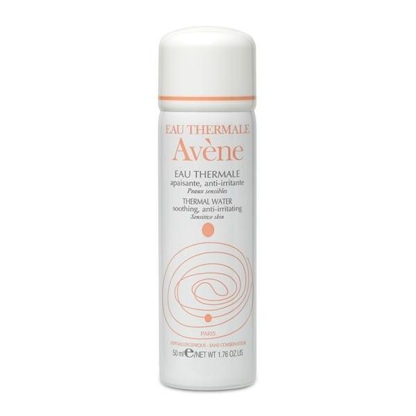 Make sure it is not over 50 ml / 1.76 OZ. This one is from Avene,but you can also buy Vichy, LaRoche or not branded one.