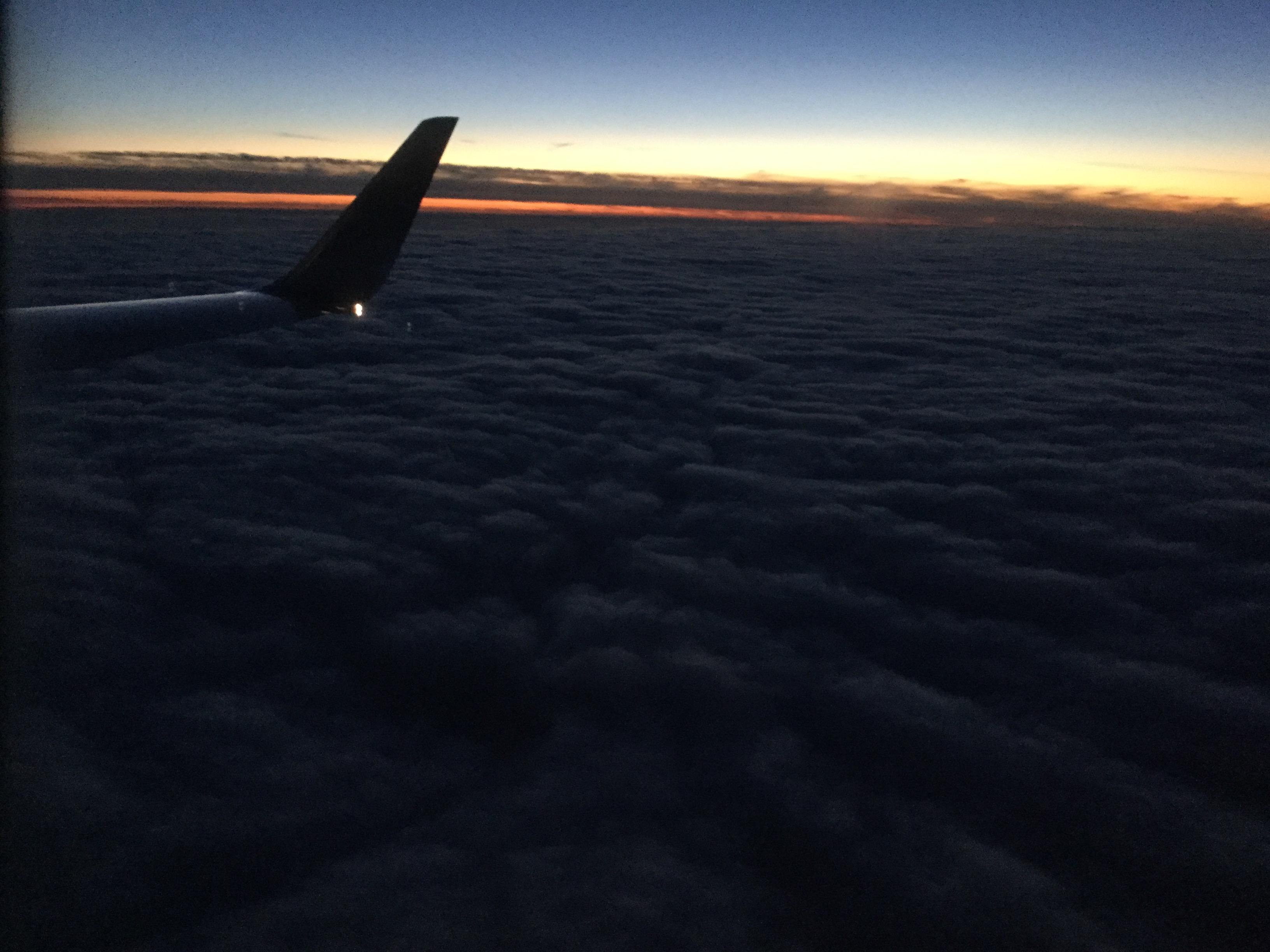 Beautiful sunset somewhere over Utah