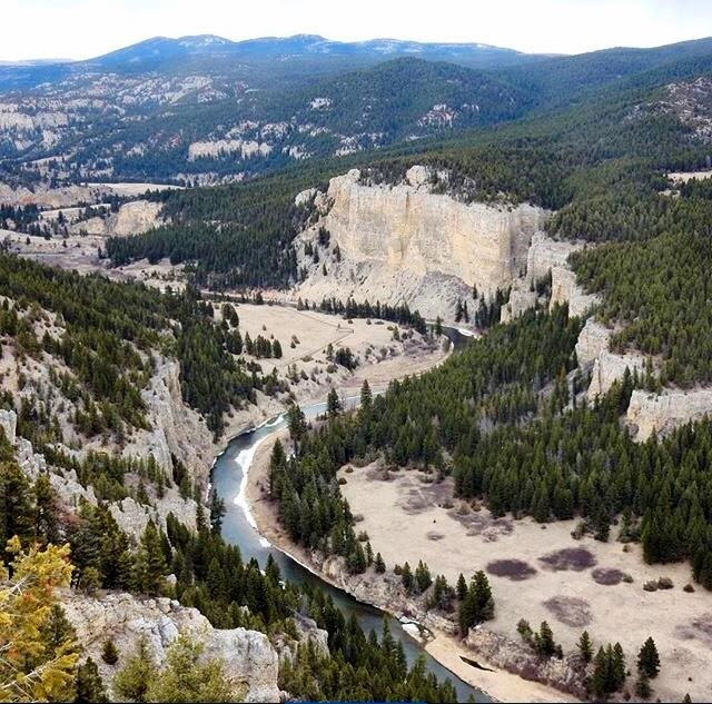 View of Smith River Canyon
