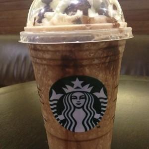 floresta negra mocha frappuccino