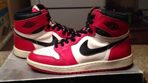 Red, White, Black Air Jordan 1