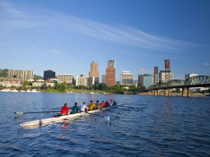 rowers river