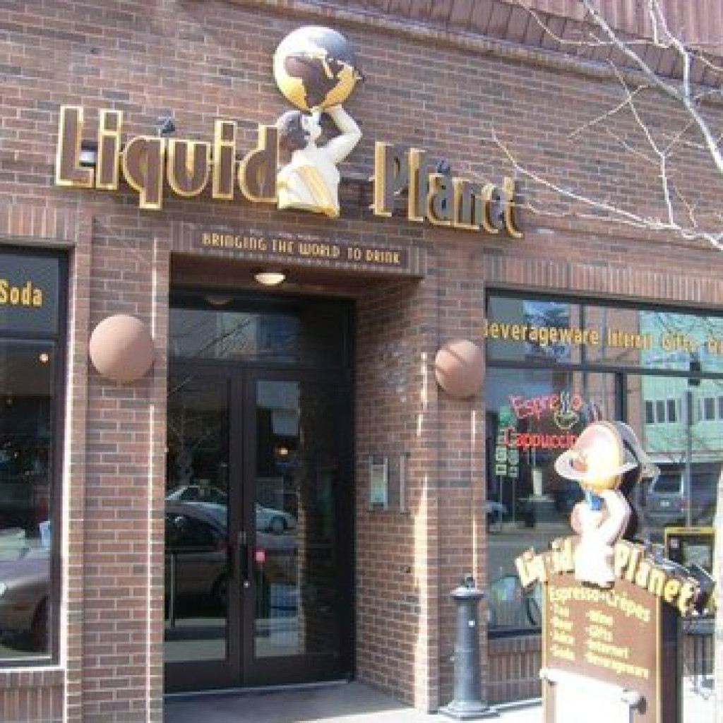 Picture of the Liquid Planet storefront in downtown Missoula