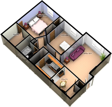 Layouts for Small house design in bangladesh
