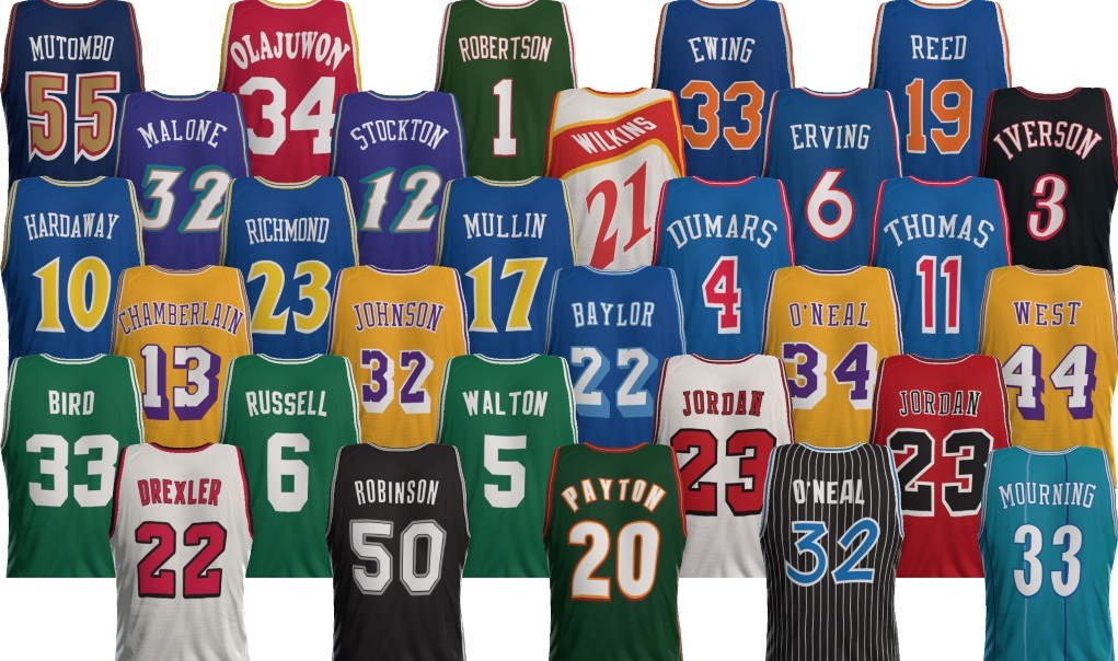 The Best NBA Jerseys for Every Franchise  23b59b3e4