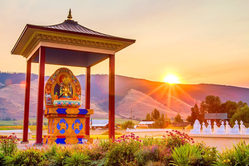 21 things to do in missoula this summer Garden of one thousand buddhas