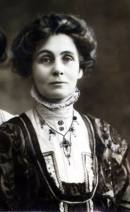 """On Saturday, Oct. 10, 1903, Emmeline Pankhurst, with the help of her three nasty daughters, founded the Women's Social and Political Union, which quickly and notoriously prompted the suffragette movement in Great Britain. (P.S. Emmeline Pankhurst is portrayed by Meryl Streep in the 2015 film, """"Suffragette"""". I love it when nasty women play other nasty women in movies.)"""