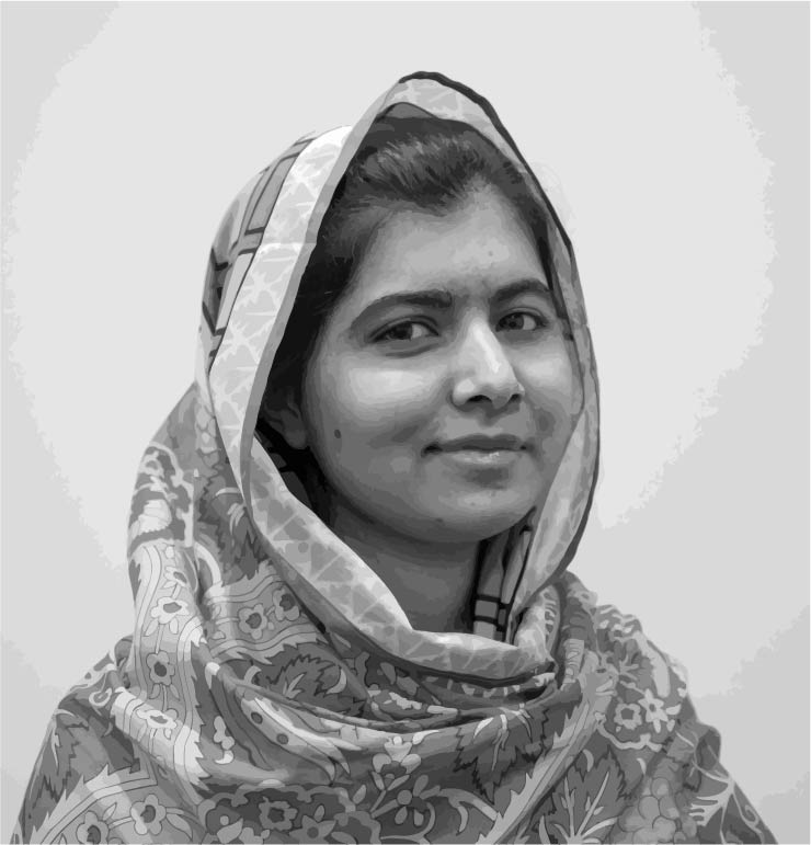 On Friday, Oct. 10, 2014, Malala Yousafzai, at the age of 17, became the youngest Nobel laureate for her work advocating all children's right to an education. Malala is also coincidentally the youngest nasty lady on this list, which is almost as big of an honor.